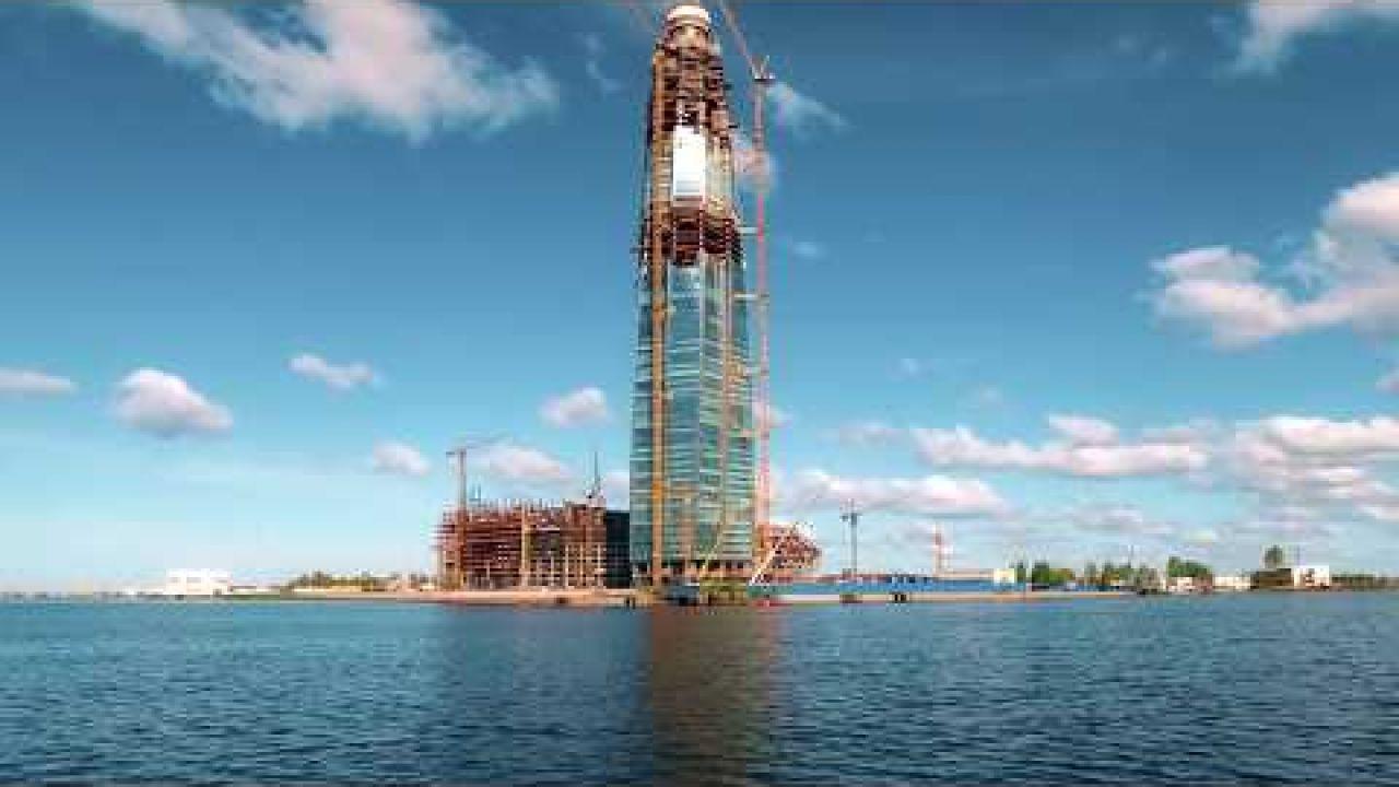 Небоскрёб в Санкт-Петербурге - самый высокий в Европе