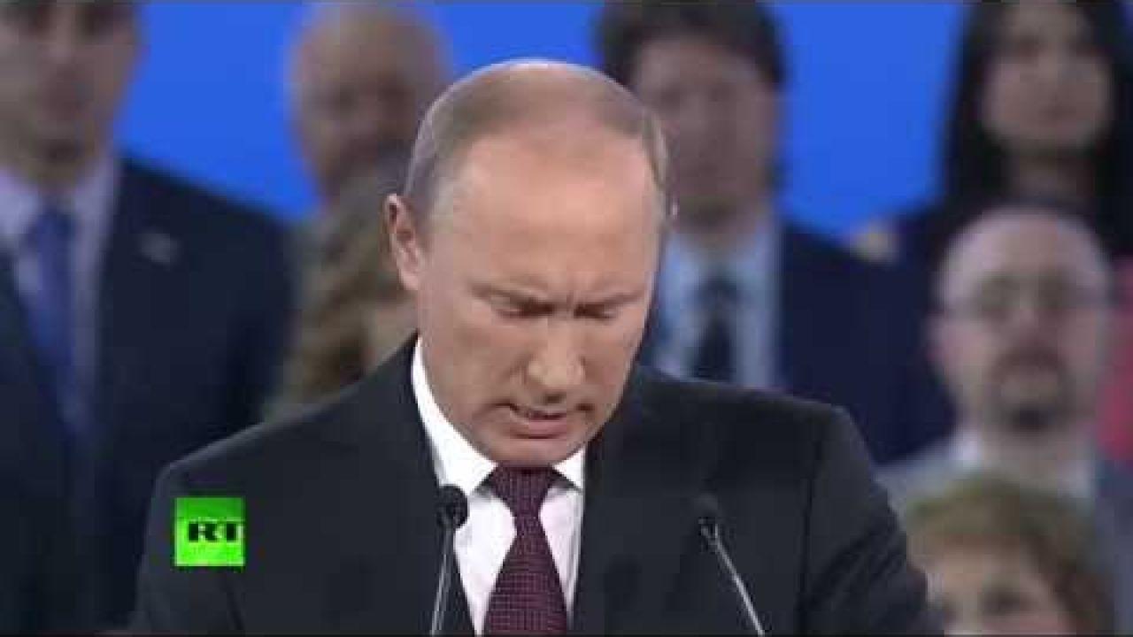 Путин: Право народа – требовать и добиваться лучших возможностей для жизни