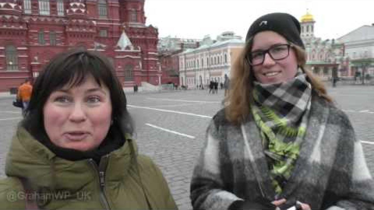 Красная Площадь — Что вы думаете о президенте Путине?